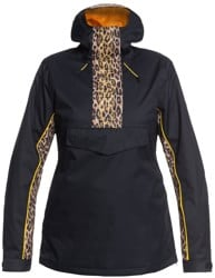 DC Shoes Envy Anorak Insulated Jacket - leopard fade