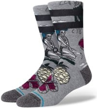 Stance Haunted Hula Sock - grey