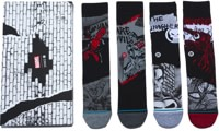 Stance Marvel 4-Pack Box Set Sock - black