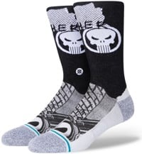 Stance Marvel Punisher Infiknit Sock - black
