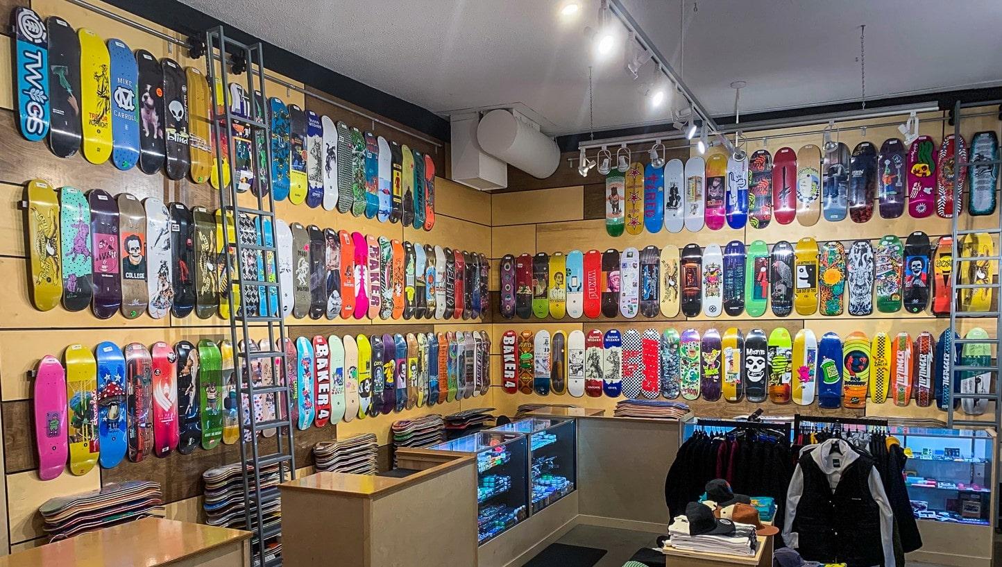 Portland Skate And Snowboard Shop Tactics