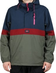 Neff Weekend Anorak Softshell Jacket - beetle