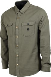 Roark Nordsman Light Flannel Shirt - military