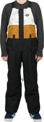 686 Frontier Bib Pants - black colorblock
