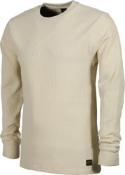 RVCA Day Shift Thermal L/S T-Shirt - antique white