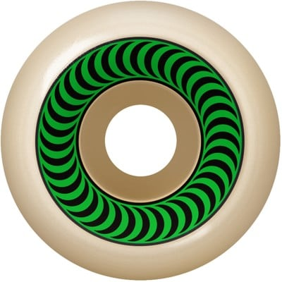 Spitfire Formula Four OG Classic Skateboard Wheels - white/green (99d) - view large