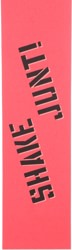 Shake Junt SJ Sprayed Skateboard Grip Tape - pink/black spray
