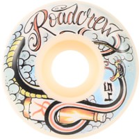 Road Crew Beer Snake Skateboard Wheels - white (99a)