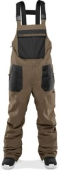 Thirtytwo Basement Bib Pants - fatigue