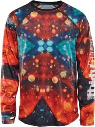 Thirtytwo Ride Lite L/S - black/print