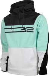 Thirtytwo Signature Repel Tech Hoodie - white/mint