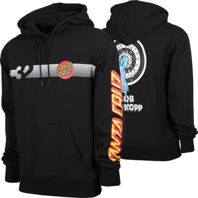 Thirtytwo Santa Cruz Repel Hoodie - black - view large