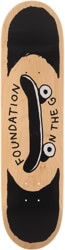 Foundation On The Go 8.0 Skateboard Deck - natural