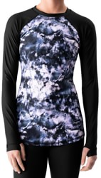 BlackStrap Pinnacle Crew Base Layer Top - tie dye rose
