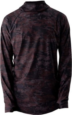 BlackStrap Summit Hooded Base Layer Top - digital maroon - view large