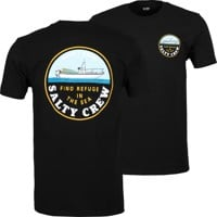 Salty Crew Dawn Patrol T-Shirt - black