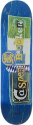Isle Brooker Pub Series 8.5 Skateboard Deck - blue
