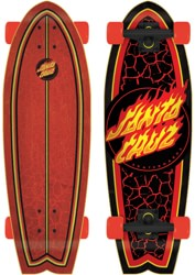Flame Dot 8.8 Cruzer Shark Complete Cruiser Skateboard