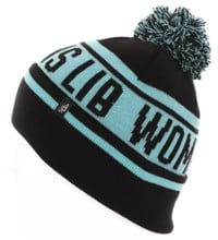Lib Tech Women's Lib Pom Beanie - blue
