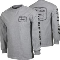 Salty Crew Stealth L/S T-Shirt - athletic heather