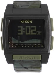 Nixon Base Tide Pro Watch - green camo
