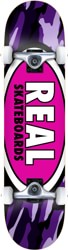 Real Team Oval Camo 8.0 Complete Skateboard