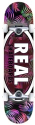 Real Team Tropic Oval II 7.3 Complete Skateboard