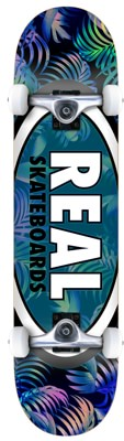 Real Team Tropic Oval II 7.5 Complete Skateboard - view large