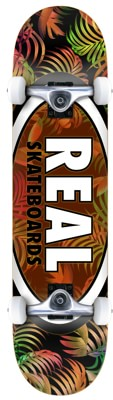 Real Team Tropic Oval II 7.75 Complete Skateboard - view large