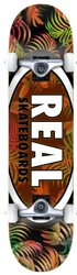 Real Team Tropic Oval II 7.75 Complete Skateboard