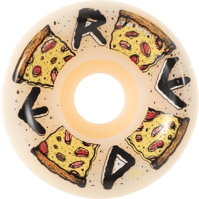 Reed Pizza Pie Conical Shape Skateboard Wheels - white (99a) - view large