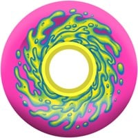 Santa Cruz Slime Balls Cruiser Skateboard Wheels - pink/yellow (78a)