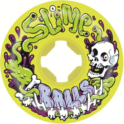 Santa Cruz Guts Speed Balls Skateboard Wheels - yellow (99a) - view large