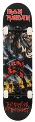 Iron Maiden Number Of The Beast 8.0 Complete Skateboard