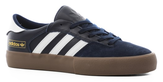 Adidas Matchbreak Super Skate Shoes - collegiate navy/footwear white/gum5 - view large