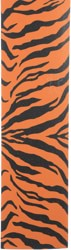 Grizzly Tiger King Bear Cut-Out Perforated Skateboard Grip Tape - orange