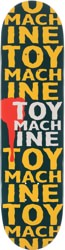 Toy Machine New Blood 8.25 Skateboard Deck - blue
