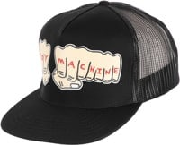 Toy Machine Fists Trucker Hat - black
