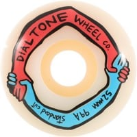 Dial Tone Wheel Co. Harmony Skateboard Wheels - white (99a)