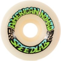 Speedlab Nomads Skateboard Wheels - white (97a)