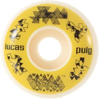 Wayward Wheels Puig Funnel Shape Skateboard Wheels - white (101a)