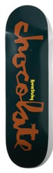 Chocolate Tershy Original Chunk 8.5 Skateboard Deck - navy/brown