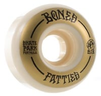 Bones SPF Wide Skateboard Wheels - white/gold (81b)