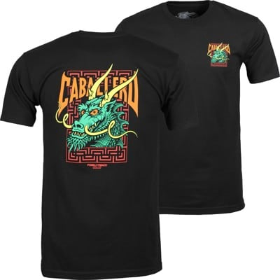 Powell Peralta Caballero Street Dragon T-Shirt - black - view large