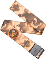 Arcade Belt Co. Rambler Kids Belt - yellow dye/good vibes