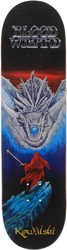 Blood Wizard Kowalski Dragon Slayer 8.5 Skateboard Deck
