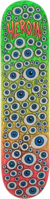 Heroin Toxic Fade Eyes 8.0 Skateboard Deck - view large