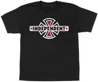Independent Kids Vintage B/C T-Shirt - black