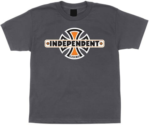 Independent Kids Vintage B/C T-Shirt - charcoal - view large