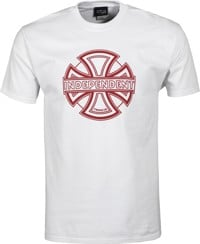Independent Convex T-Shirt - white